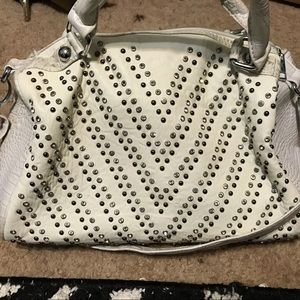 Handbags - White Rhinestone Bag